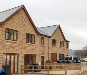 Residential development in Halifax, West Yorkshire