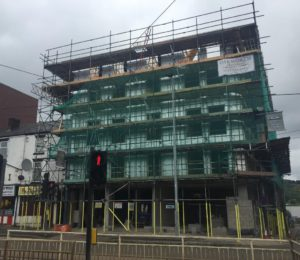 Development of 5 storey student accommodation in Sheffield