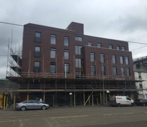 Practical development of 12 student apartments in Sheffield