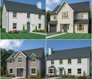 Former John Wedgewood home modernised into 26 luxury new build development in Abergavenny