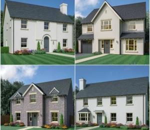 Former John Wedgewood home modernised into 26 luxury new build development in Abergavenny
