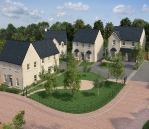 Development of a dozen high tech family homes in the Vale of Glamorgan